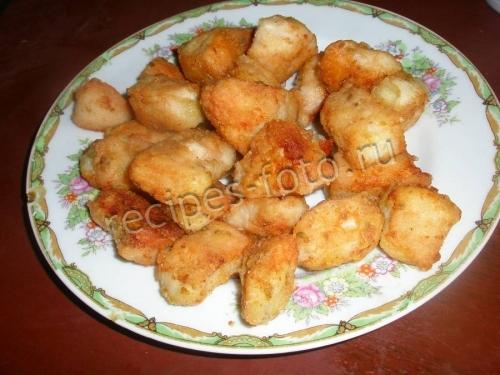 Наггетсы – куриное филе в панировке