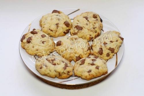 Американское печенье с шоколадной крошкой (Chocolate cookies)