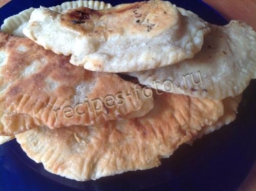 Чебуреки с капустой рецепт с фото пошаговый