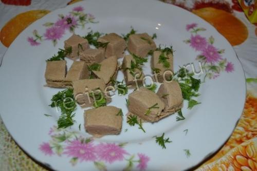 Суфле из печени для детей от 1,5 года