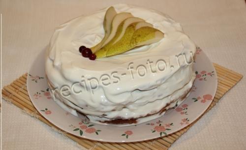 Бисквитные торты в домашних условиях - рецепты с фото 67