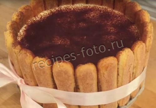 Рецепт торта тирамису с маскарпоне в домашних условиях 635