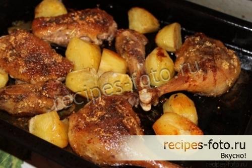 окорочка утки в духовке рецепт