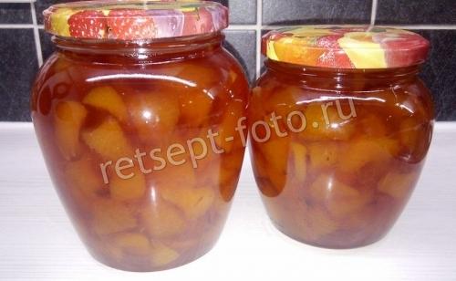 Варенье-пятиминутка из персиков