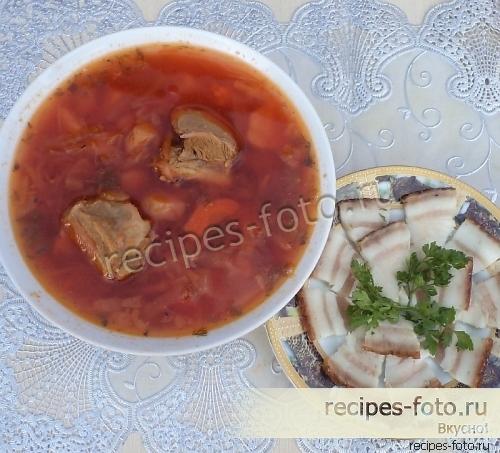 Супы c фото