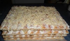 Коржи Наполеон с курицей и грибами: закусочный торт Наполеон из готовых коржей