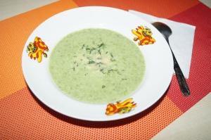 Крем-суп со шпинатом для детей от 1 года
