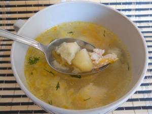 Куриный суп с клецками для ребенка 1,5 года
