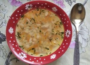 Куриный суп с рисом для ребенка 1 год