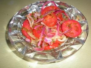 Маринованные помидоры за 30 минут