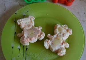Омлет с морковью для ребенка 1 год