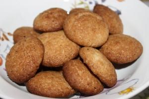 Самое простое кокосовое печенье быстрого приготовления