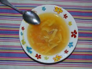 Суп-лапша с говядиной для детей от 1 года