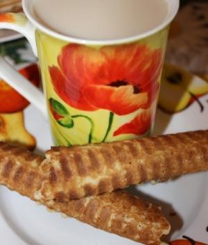 Вафли хрустящие (рецепт для вафельницы)