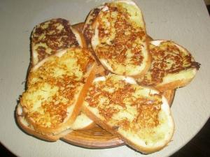 Жареные бутерброды с картошкой и луком