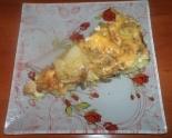 Картошка в духовке с мясом и грибами