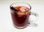 Безалкогольный глинтвейн на вишневом соке