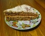 Бисквитный торт с крем-чиз