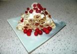 """Блинный торт с вишней и творогом """"Монастырская изба"""""""