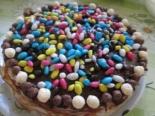 Блинный торт со сгущенкой и вареньем