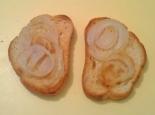 Бутерброды с жареным луком