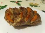 Буженина из свинины с морковью и майонезом в фольге