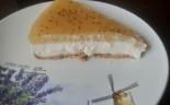 Чизкейк из творога с яблочным пюре без выпечки