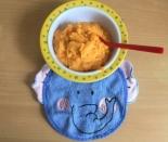 Детское пюре из кролика, батата, капусты и моркови ребенку 1 год