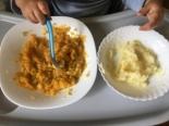 Детское пюре из трески и овощей детям от 1 года