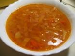 Диетический овощной суп из капусты
