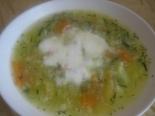 Диетический суп из кабачков с цветной капустой
