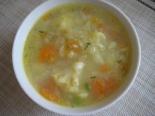 Диетический суп с цветной капустой