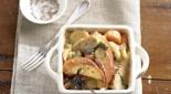 Индейка или курица с овощами в горшочке в духовке