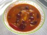 Фасолевый суп с томатом без картошки