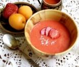 Фруктовое пюре из клубники и абрикоса для детей до 1 года в домашних условиях (для первого прикорма)