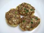 Горячие бутерброды с тунцом, сыром и яйцом