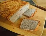 Гречневый хлеб из зеленой гречки без дрожжей