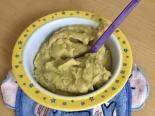 Хек с овощами на пару детям от 11 месяцев