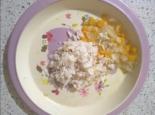 Хек с овощами в духовке для детей до 1 года