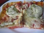 Итальянская овощная пицца с кабачками