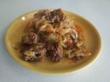 Говядина с капустой