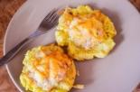 Картофельные гнезда с курицей и сыром
