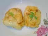 Картофельные голубцы на сковороде