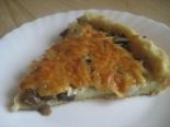 Картофельный пирог с грибами и сыром. Картофельное тесто для пирогов