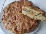 Картофельный пирог с рыбой из сырого картофеля