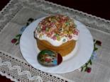 Кекс бисквитный «Пасхальный»
