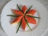 Крабовые палочки фаршированные морковью