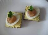 Красивые бутерброды с икрой трески на праздничный стол
