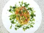 Куриные отбивные с сыром и грибами в духовке