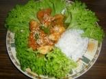 Курица карри с грушей и стручковой фасолью
